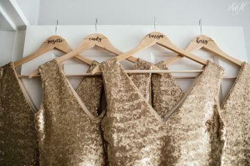 Sequin Bridesmaids Dresses. Sequence Bridesmaids Dress. Gold Sequins. Bridesmaids. South African Bridal Designer.