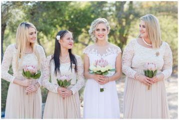 Rustic weddings. Lace and mesh. Lace dresses. Lace Bridesmaids Dress.