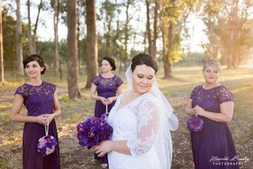 Bridesmaids Dresses. Port Elizabeth Bridesmaids. Lace Bridesmaids Dresses.