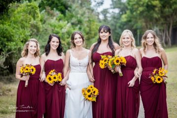 Bridesmaids. Bridesmaids Dresses. Burgundy Bridesmaids Dresses. Wedding. Bride. Port Elizabeth. South African Designer.